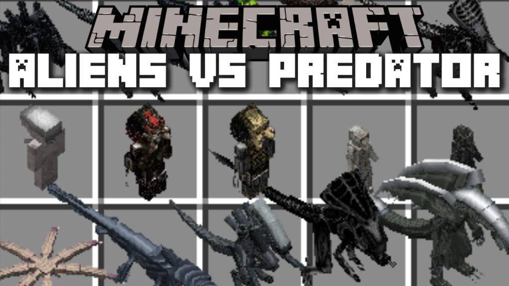 Aliens Vs Predator Mod For Minecraft 1 14 4 1 13 2 Download Mods For Minecraft