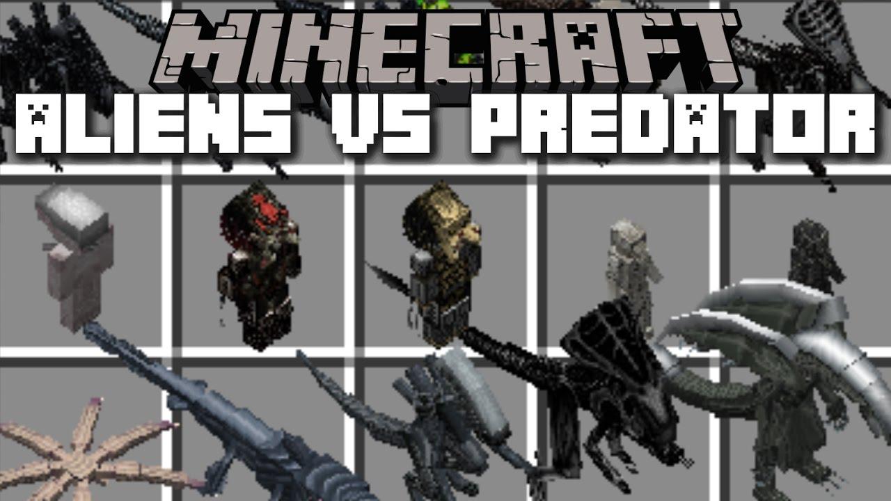 Aliens vs Predator Mod for Minecraft 1.14.4/1.13.2