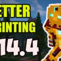 Better Sprinting Mod for Minecraft 1.14.4