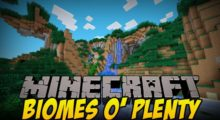 Biomes O' Plenty Mod for Minecraft 1.15/1.14.4/1.13.2