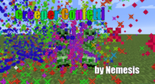 Creeper Confetti Mod for Minecraft 1.13.2