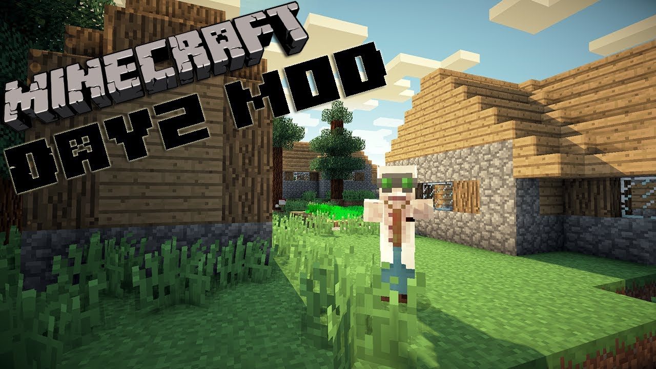 DayZ (Zombie) Mod for Minecraft 1.14/1.13.2