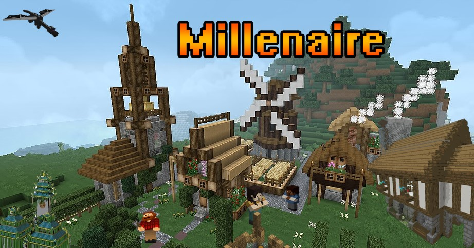 Millenaire Mod for Minecraft 1.13.2/1.13/1.12.2