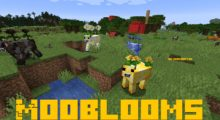 Mooblooms Mod for Minecraft 1.15.1/1.15