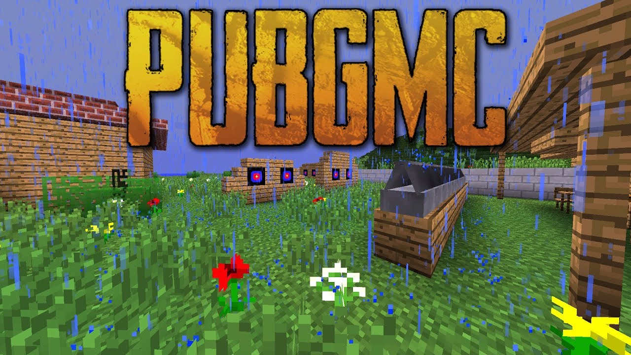 PUBG Mod for Minecraft 1.13.2/1.12.2