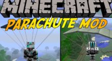 Parachute Mod for Minecraft 1.14.4