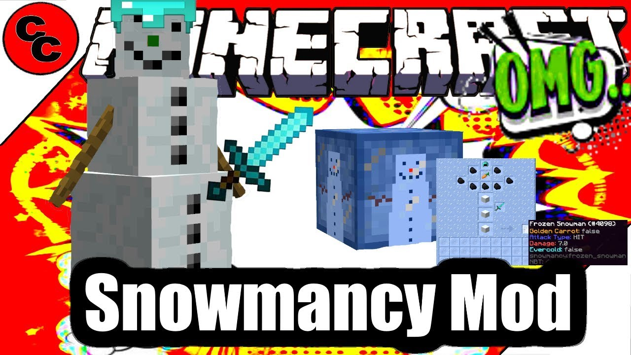 Snowmancy Mod for Minecraft 1.15.1/1.14.4