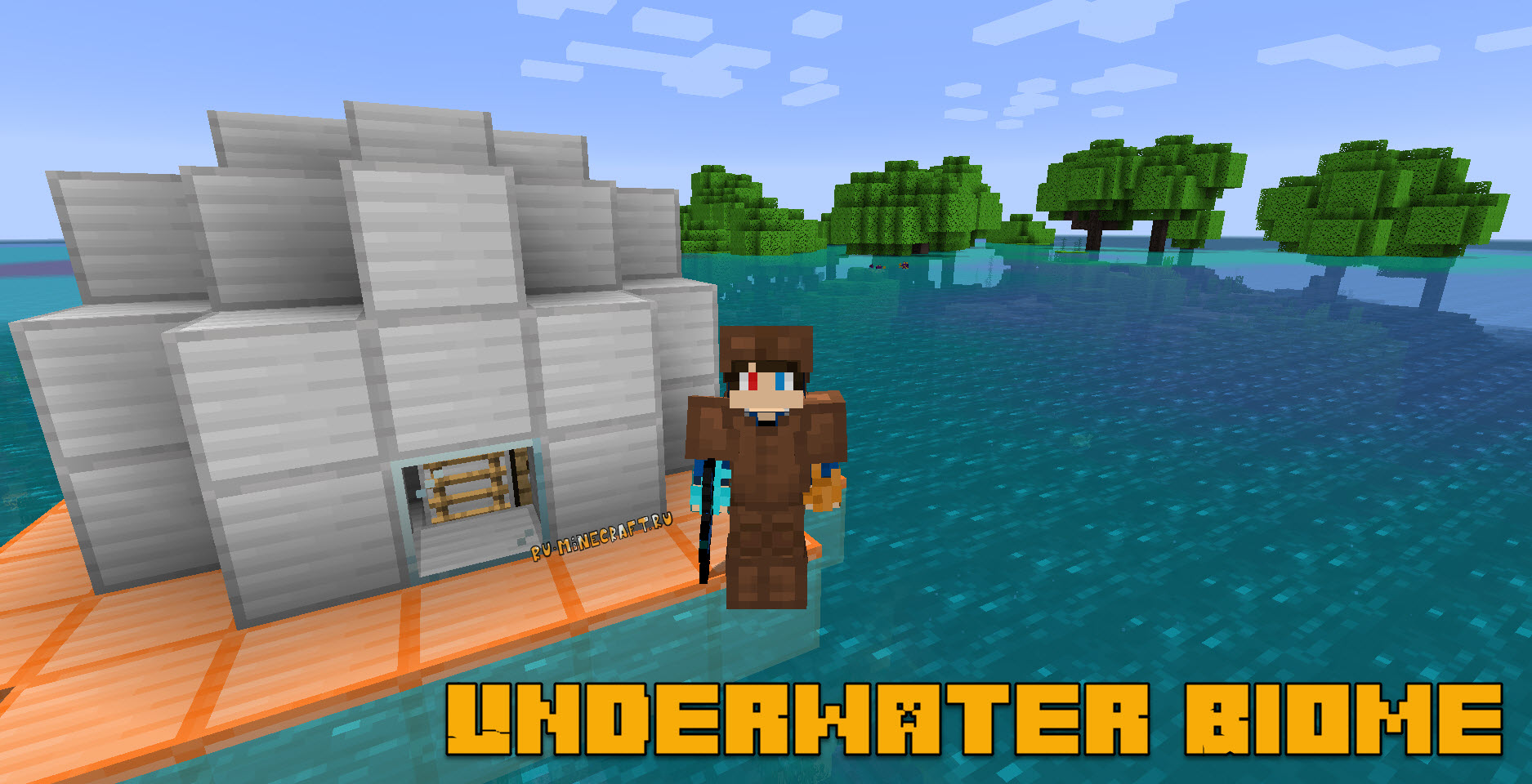 Underwater Biome Mod for Minecraft 1.15/1.14.4