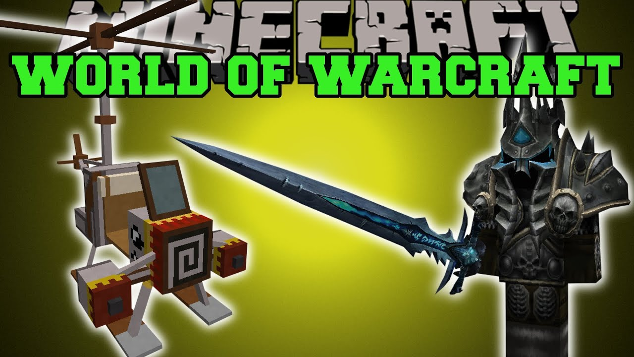 WoW Weapons Mod for Minecraft 1.15.1/1.15