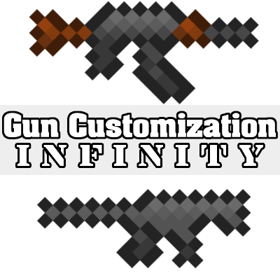 Gun Customization: Infinity Mod for Minecraft 1.14.4