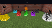 Colored Flames Mod for Minecraft 1.15.1