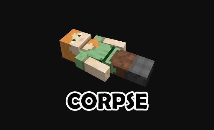 Corpse Mod for Minecraft 1.15.1/1.15/1.14.4