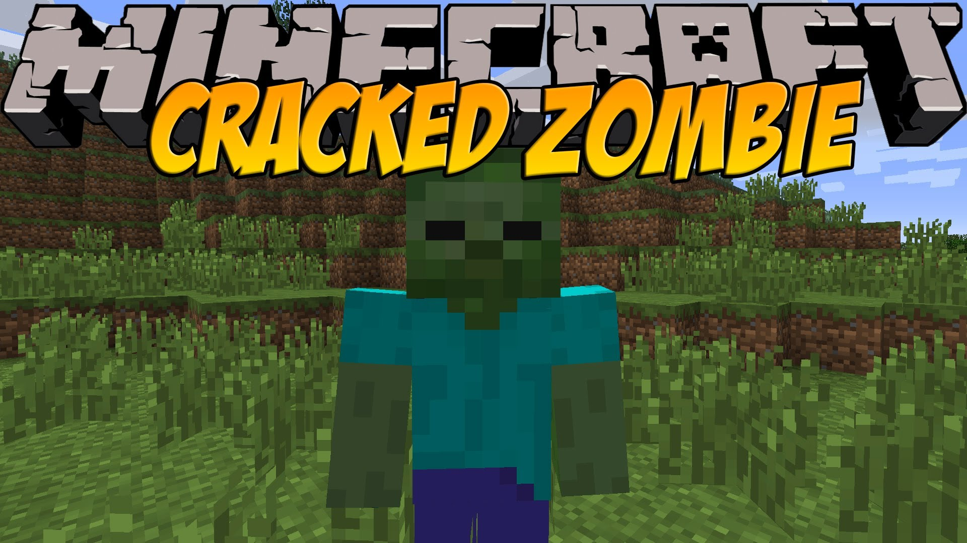 CrackedZombie Mod for Minecraft 1.15.1/1.15/1.14.4