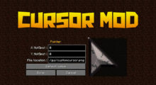 Cursor Mod for Minecraft 1.15.1/1.15