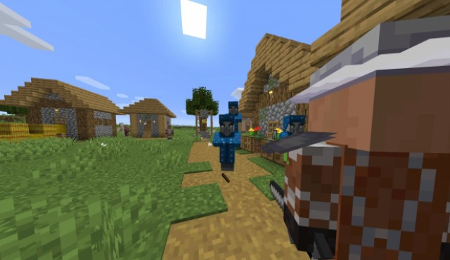 Guard Villagers Mod for Minecraft 1.15.2/1.14.4