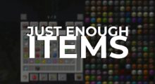 Just Enough Items Mod for Minecraft 1.15.1/1.15