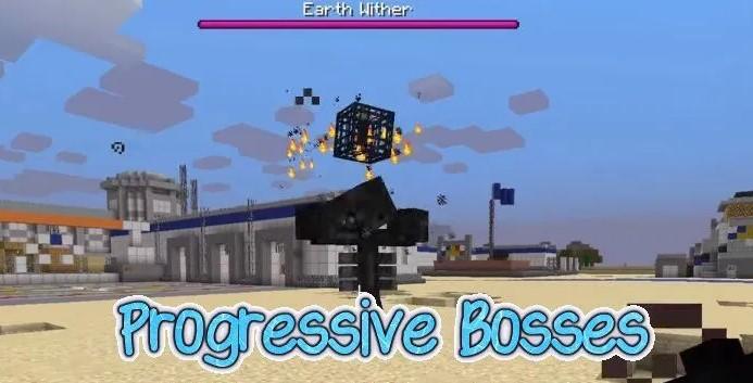 Progressive Bosses Mod for Minecraft 1.15.1/1.15