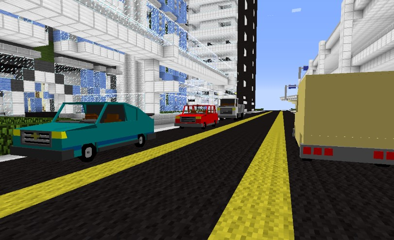 Saracalia's City Mod for Minecraft 1.12.2