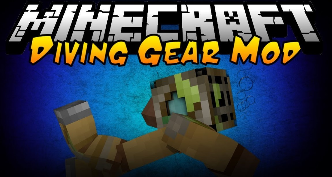 Simple Diving Gear Mod for Minecraft 1.15.1/1.14.4