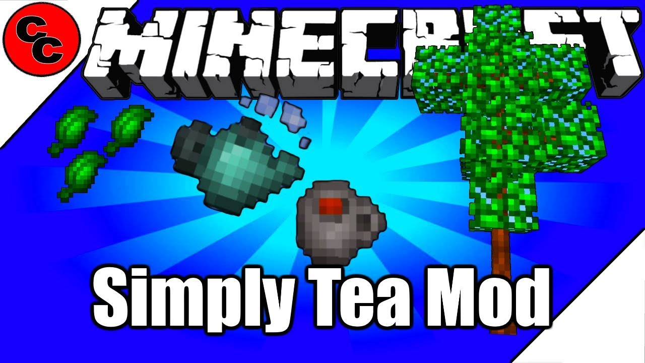Simply Tea Mod for Minecraft 1.15.1/1.14.4