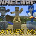 Statues Mod for Minecraft 1.14.4/1.14