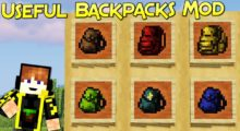 Useful Backpacks Mod for Minecraft 1.15.1/1.15