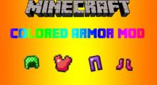 Colorful Armor Mod for Minecraft 1.15.1/1.15/1.14.4