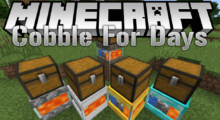CobbleForDays Mod for Minecraft 1.15.2/1.14.4