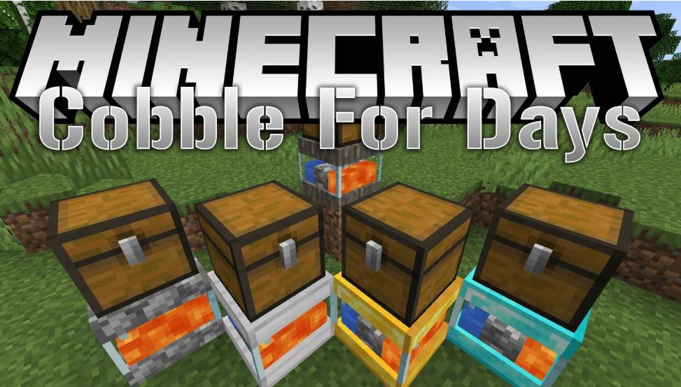 CobbleForDays Mod for Minecraft 1.15.2/1.14.4