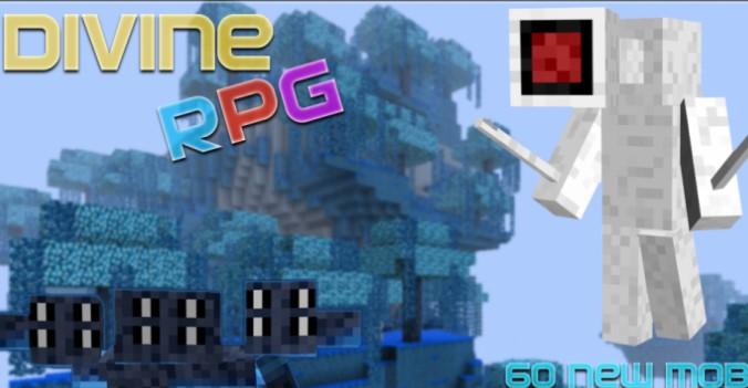 Divine RPG Mod for Minecraft 1.12.2