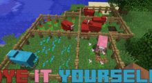 Dye It Yourself Mod for Minecraft 1.15.2/1.15.1