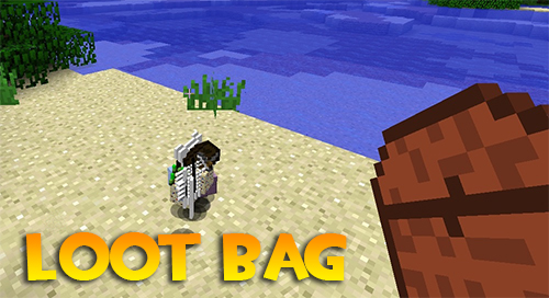 Loot Bag Mod for Minecraft 1.15.2/1.15.1/1.14.4