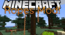 Ropes Mod for Minecraft 1.15.2/1.15.1