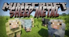 Sheep Metal Mod for Minecraft 1.15.2/1.15.1/1.14.4