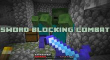 Sword Blocking Combat Mod for Minecraft 1.15.2/1.15.1/1.14.4