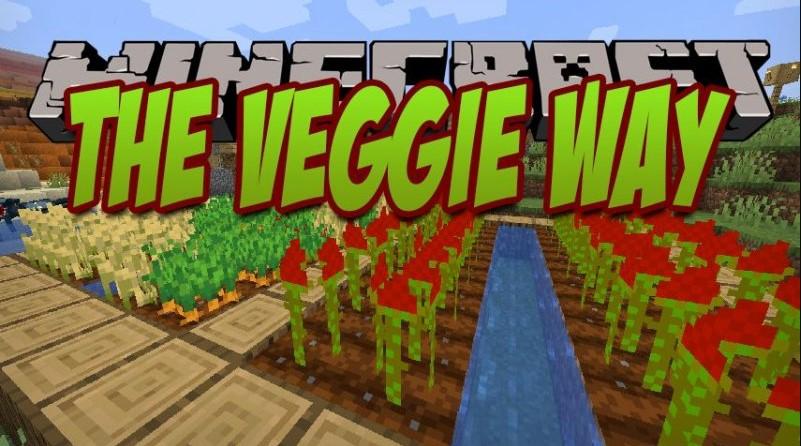 The Veggie Way Mod for Minecraft 1.15.2/1.15.1/1.14.4