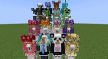 V-Girl Armor Mod for Minecraft 1.15.2/1.14.4