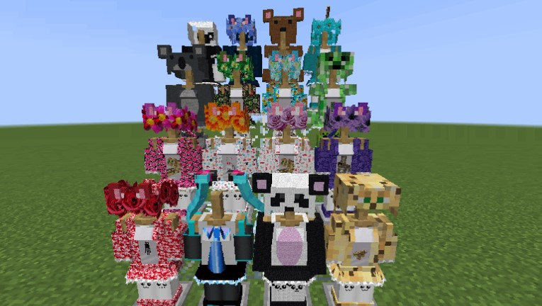 V-Girl Armor Mod for Minecraft 1.15.2/1.14.4