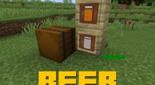 Beer Mod for Minecraft 1.15.2/1.15.1/1.14.4
