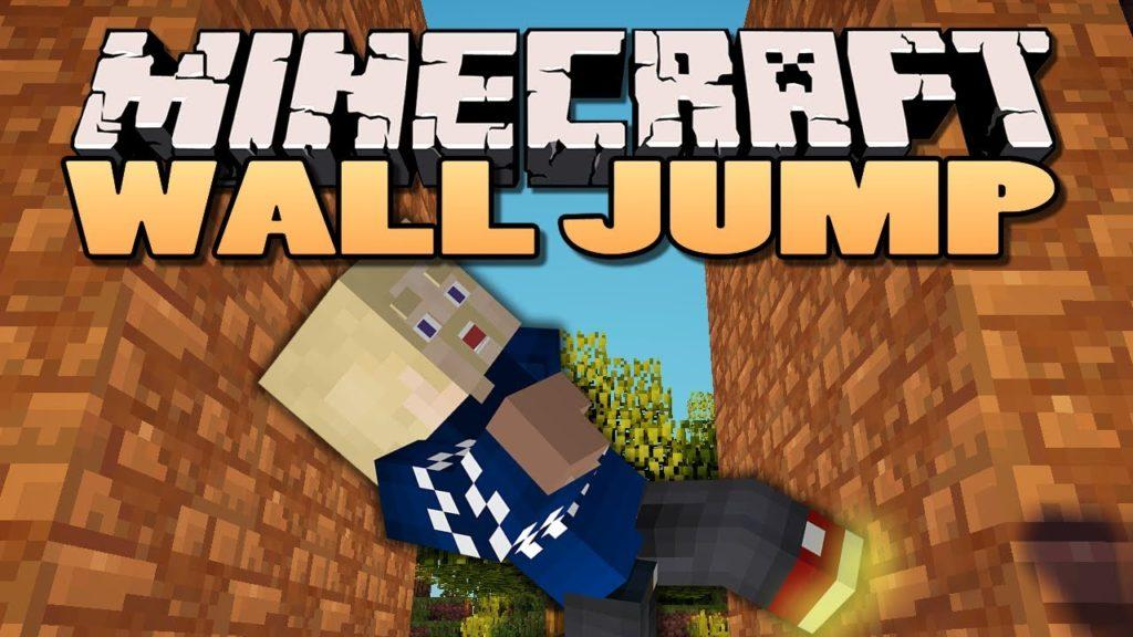 Wall-Jump! Mod for Minecraft 1.15.2/1.15.1/1.14.4