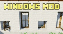Windows Mod for Minecraft 1.15.2/1.15.1/1.14.4