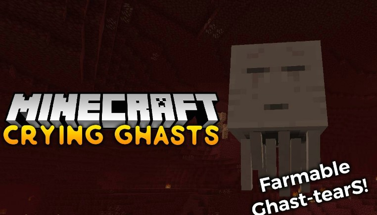 Crying Ghasts Mod for Minecraft 1.15.2/1.14.4
