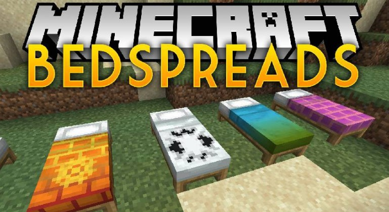 Bedspreads Mod for Minecraft 1.15.2/1.14.4/1.12.2