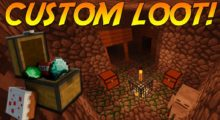 Customized Dungeon Loot Mod for Minecraft 1.14.4