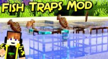 Fish Traps Mod for Minecraft 1.15.2/1.14.4