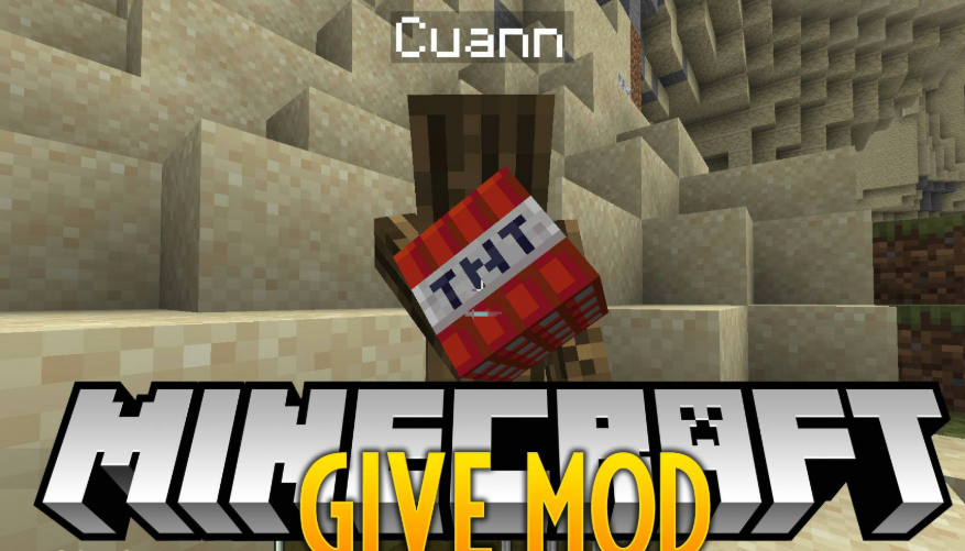 Give Mod for Minecraft 1.15.2/1.15.1/1.14.4