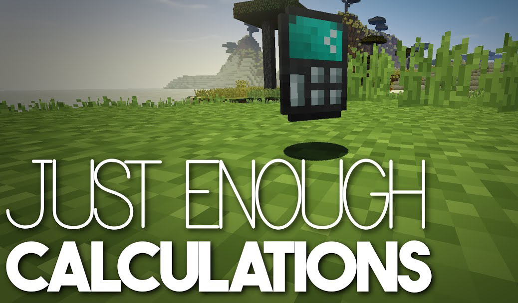 Just Enough Calculation Mod for Minecraft 1.15.2/1.14.4/1.12.2