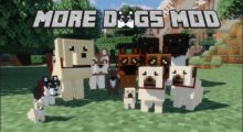 More Dogs Mod for Minecraft 1.14.4