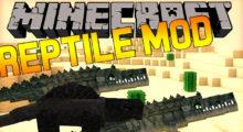 Reptile Mod for Minecraft 1.15.2/1.14.4/1.12.2