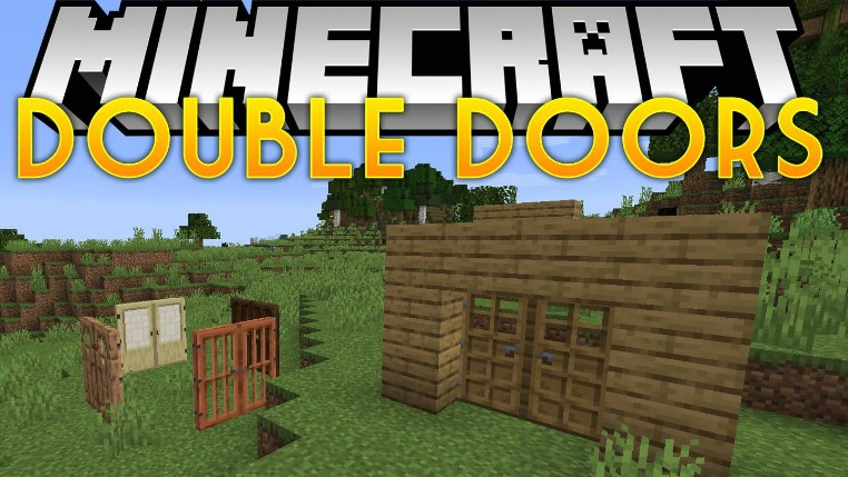 Double Doors Mod for Minecraft 1.15.2/1.15.1/1.14.4